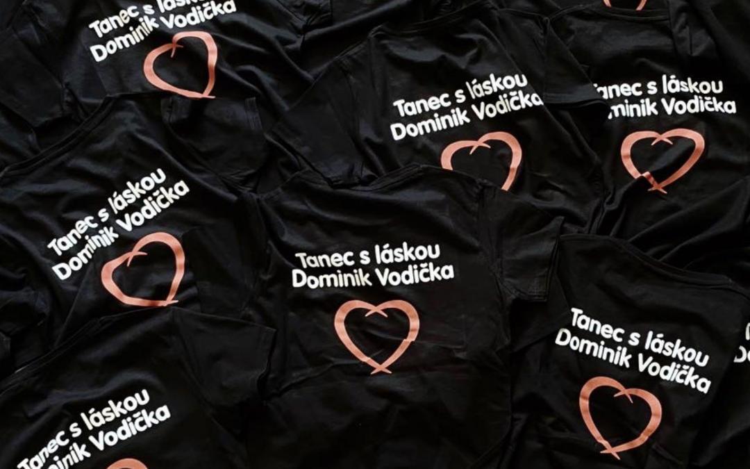 Dominik Vodička tančí s láskou