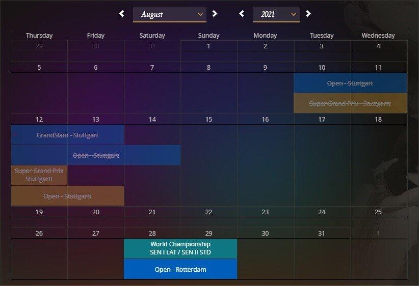 wdsf calendar
