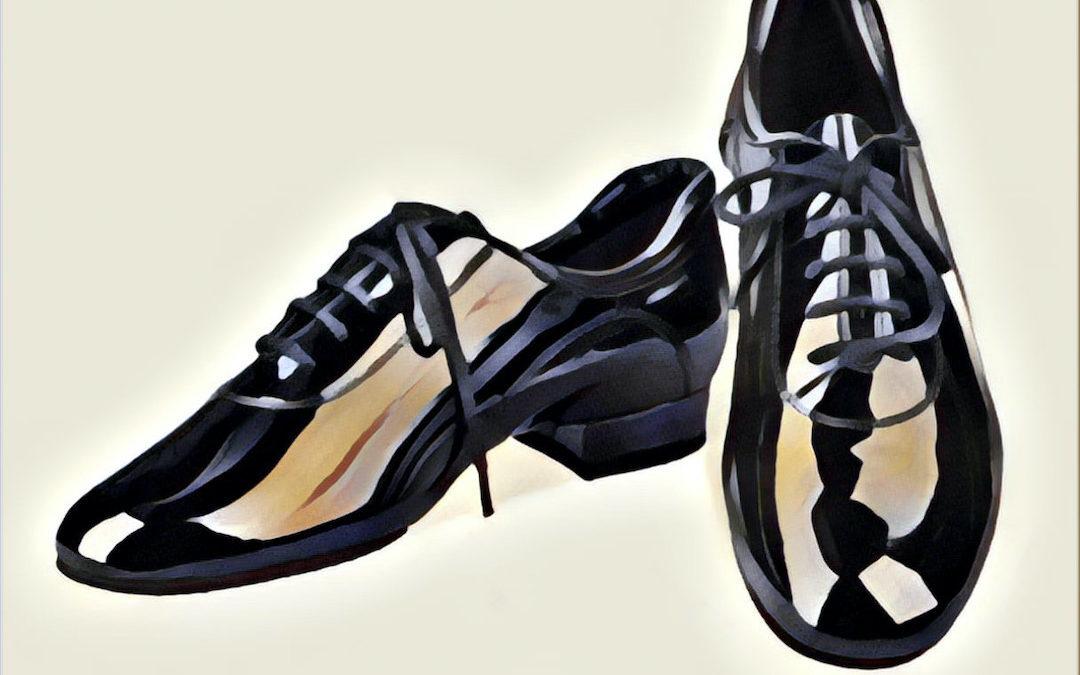 Deník tanečníka, taneční boty