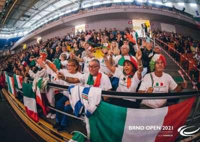 Brno Open 2021, Mistrovství světa ve standardních tancích 2021