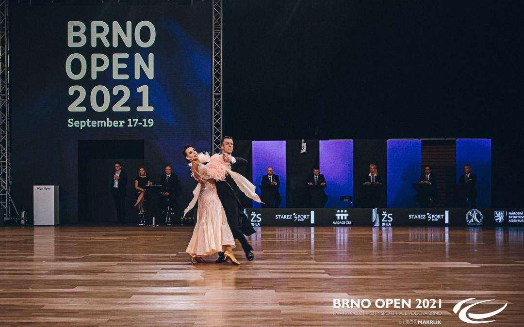 Brno Open 2021, Mistrovství světa ve standardních tancích 2021, David Odstrčil, Tara Bohak