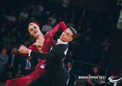 Brno Open 2021, Mistrovství světa ve standardních tancích 2021, Jakub Brück, Marina Makarenko